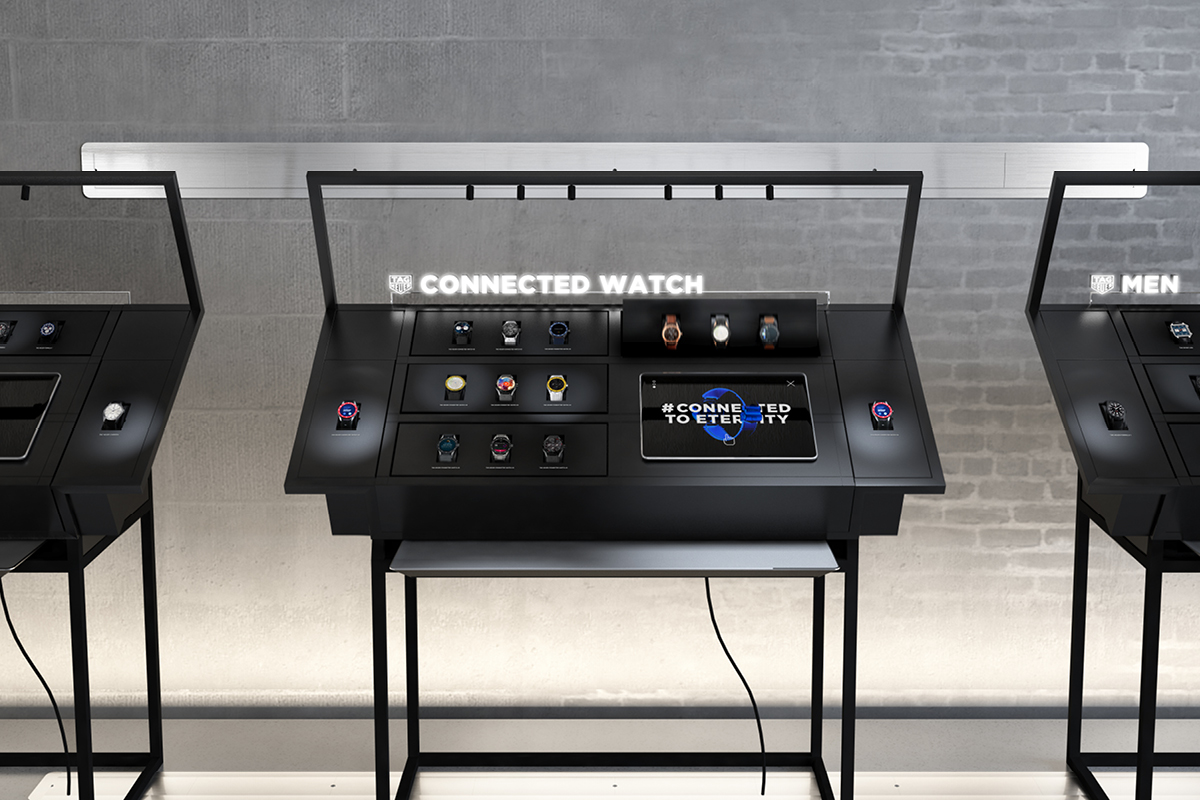 Connected display developed by WIPDesign